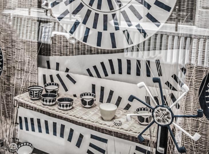décoration vitrine boutique