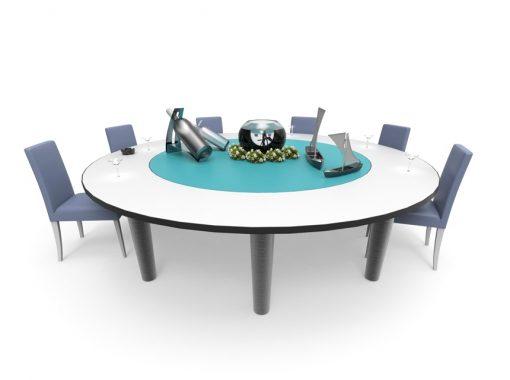 Mouvements Phénix - Table Rotative Restaurant Décoration