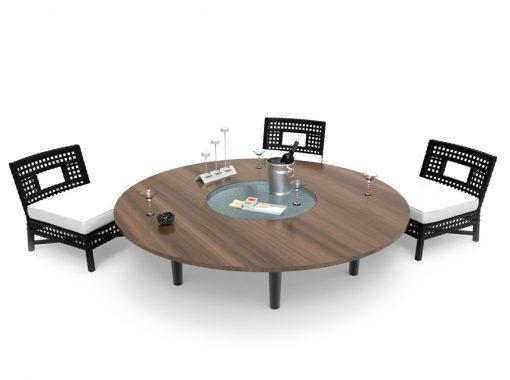 Mouvements Phénix - Table Tournante Motorisée Aménagement
